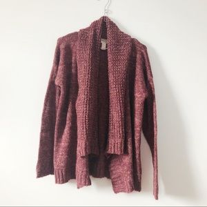 3/20$ Forever 21 warm and cozy open front cardigan